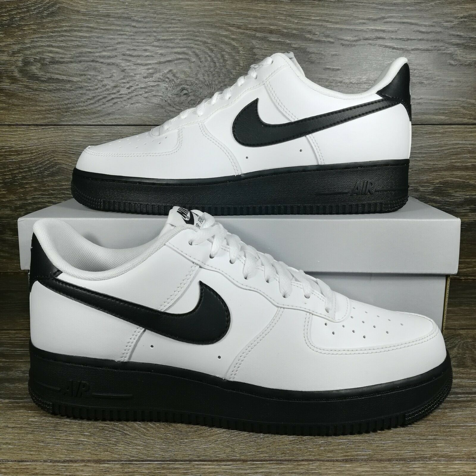 Nike Air Force 1 Low White Block Red Color Women Size 12 Men For