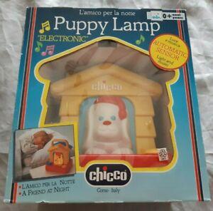 Puppy-Lamp-Nachtlicht-amp-Musik-Huendchen-Lampe-Chicco-Kleinkinder-Spielzeug