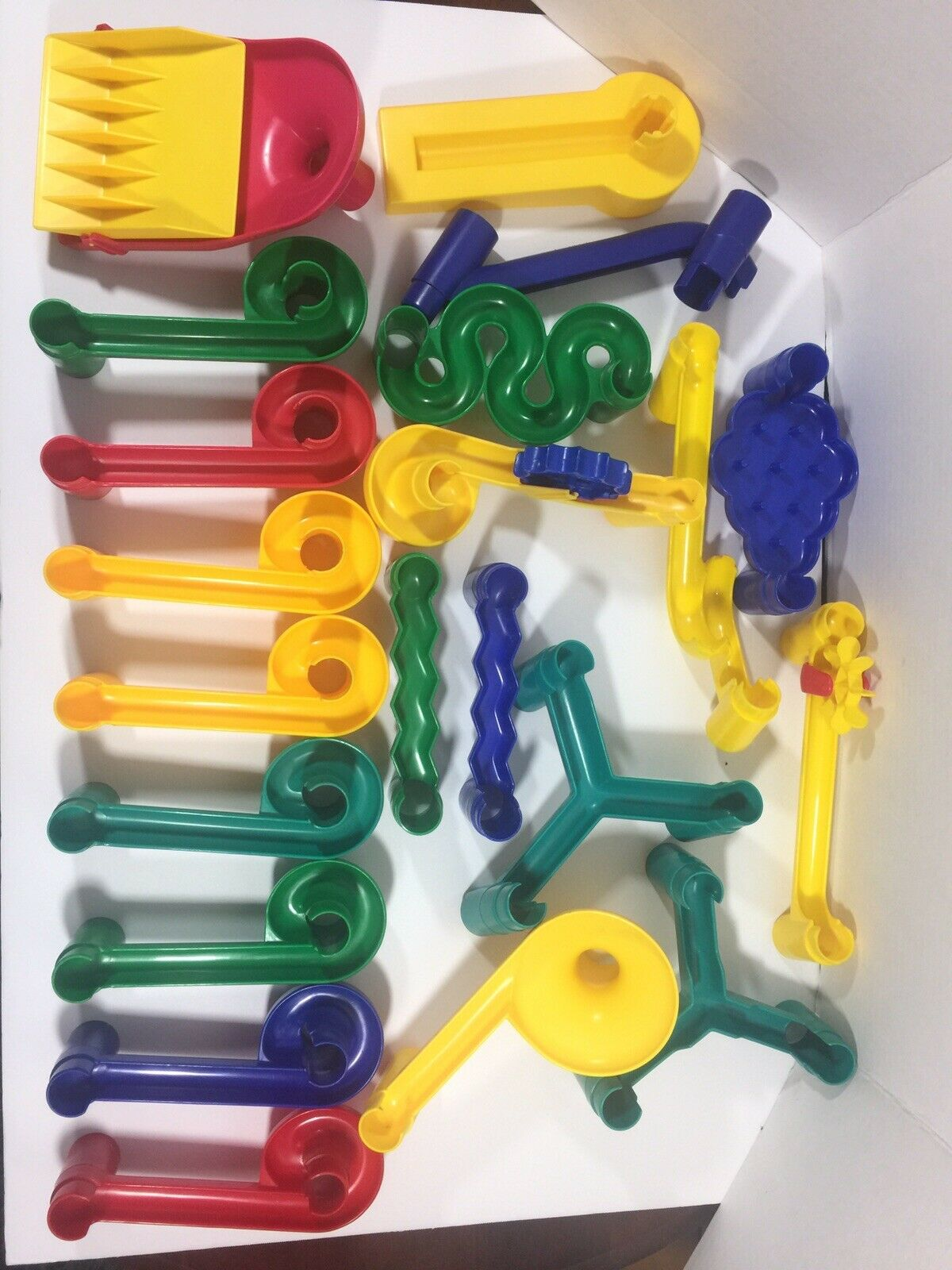 Discovery Toys Vtg Marble Maze Pieces STEM Fun Educational Educational Educational Engineering 65 Pieces 3f687e