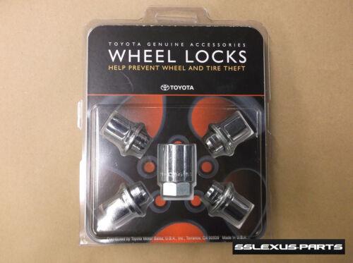 Toyota Celica 2001-2005 OEM Genuine WHEEL LOCKS LOCK SET 00276-00900