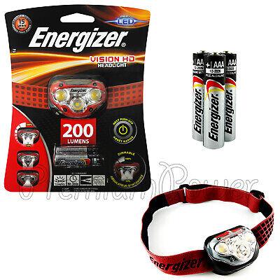 200 Lumens LED Headlight Energizer HDC32E Vision HD
