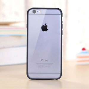 Hard-Matte-Clear-Back-Case-with-Soft-Silicone-TPU-Bumper-Cover-for-iPhone-5-6-7