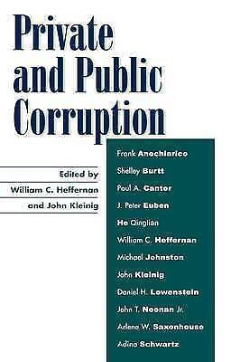 Private and Public Corruption, , New Book