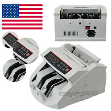 Us Money Bill Currency Counter Counting Machine Counterfeit Detector Mg Cash
