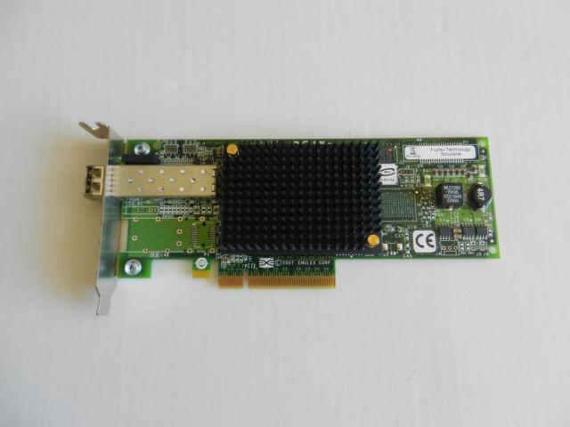 EMULEX LIGHTPULSE LPE1250 8Gb/s FIBRE CHANNEL PCI-E SINGLE CHANNEL Low Profile