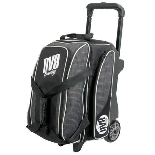 DV8 Circuit Double Roller 2 Ball Bowling Bag Grey