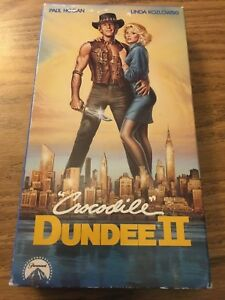 Crocodile Dundee Ii Vhs 1988 Paul Hogan Linda Kozlowski John Meillon 97363214731 Ebay
