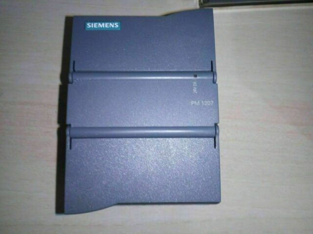 ▀▄▀▄▀  SIEMENS S7 1200 PM1207 - 6EP1 332 1SH71 - POWER SUPPLY