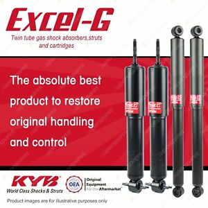 Front + Rear KYB EXCEL-G Shock Absorbers for MITSUBISHI Pajero NA NB NC ND 4WD