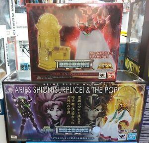 ARLES ARIES SURPLICE EX POPE Bandai Myth Cloth Saint Seiya GEMINI POPE EX
