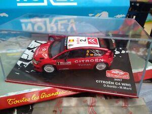 IXO-1-43-CITROEN-C4-WRC-2-MONTE-CARLO-2007-SORDO-NEUF-EN-BOITE