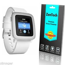 3x ZenTech Clear Screen Protector Guard Shield Film Armor Saver for Pebble Time
