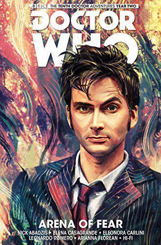 Doctor Who: The Tenth Doctor Volume 5 Arena de la peur par Elena Casagrande, Nick AB