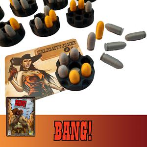 Bang 35x Bullet Token Board Game 8x Barrel