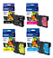 Brother Genuine LC61 B C M Y Set of 4 Ink Cartridges MFC-495CW MFC-J615W MFC-490