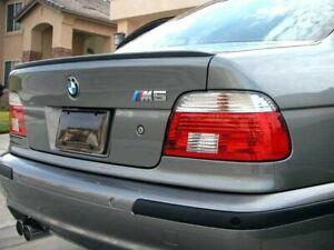 9cb734cf5fea BMW E39 5 Series Saloon Rear Boot Trunk Spoiler Lip Wing Sport Trim ...
