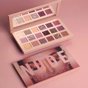 Original Huda Beauty The New Nude Eye Shadow Palette 18 Colours Matte Shimmer