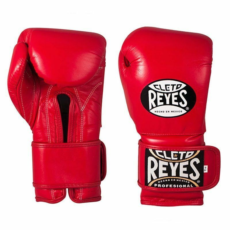 Cleto Reyes Klettverschluss Sparring Boxhandschuhe 10oz 12oz 14oz 16oz red  Leder  buy cheap new