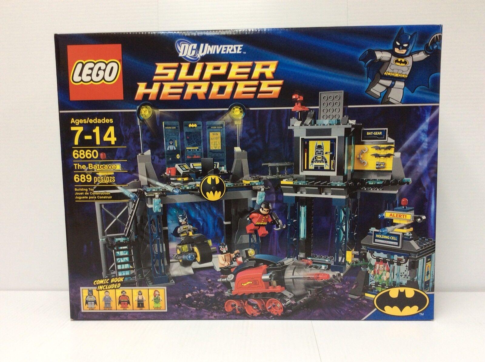 THE BATCAVE Batman Batman Batman DC Universe Super Heroes Lego Set pcs 2012 NISB a69838