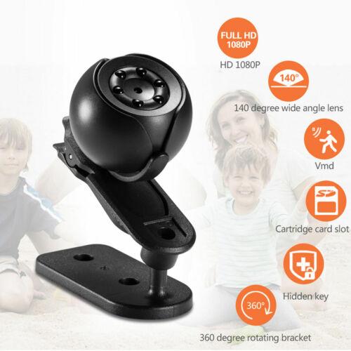 1080P Mini Camera WIFI Spy Wireless IP Hidden HD For Home Surveillance Camcorder