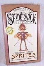 Spiderwick Chronicles Care and Feeding of Sprites Black Diterlizzi HC Poster