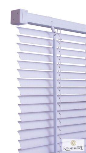 PVC Venetian Blinds Window Door Blind Easy Fit Trim-able Fitting 150cm Drop New