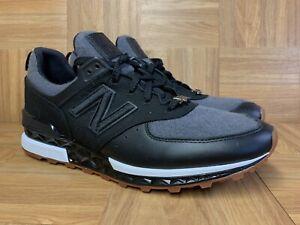 official photos fc46a 70274 Details about RARE🔥 New Balance New Era Pack x 574 Sport Black Gum Sz 13  MS574NE Men's Shoes
