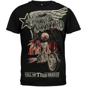 Responsable Lynyrd Skynyrd T-shirt Call Me The Breeze Size S Official Merchandise