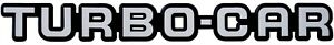 Auto-Relief-Schild-3D-Aufkleber-TURBO-CAR-16-cm-original-1982-HR-Art-14962
