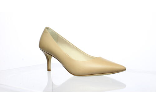 Cole Haan Womens Vesta Nude Leather Pumps Size 7.… - image 1