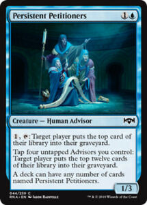 Persistent-Petitioners-x4-Magic-the-Gathering-4x-Ravnica-Allegiance-mtg-card-lot