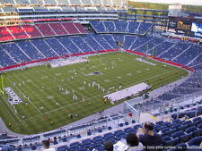 2 NEW ENGLAND PATRIOTS v Carolina Panthers Tickets 10/1/17