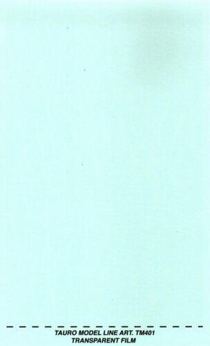 TAURO MODEL TM401 FOGLIO DECAL TRASPARENTE