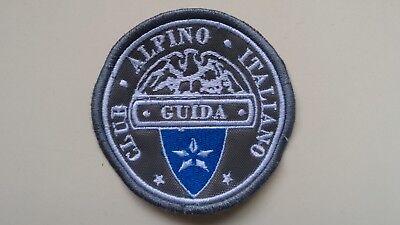 Motivata Patch Toppa Club Alpino Italiano Guida 7cm - Cucito/strappo/termica - 000 Distintivo Per Le Sue Proprietà Tradizionali
