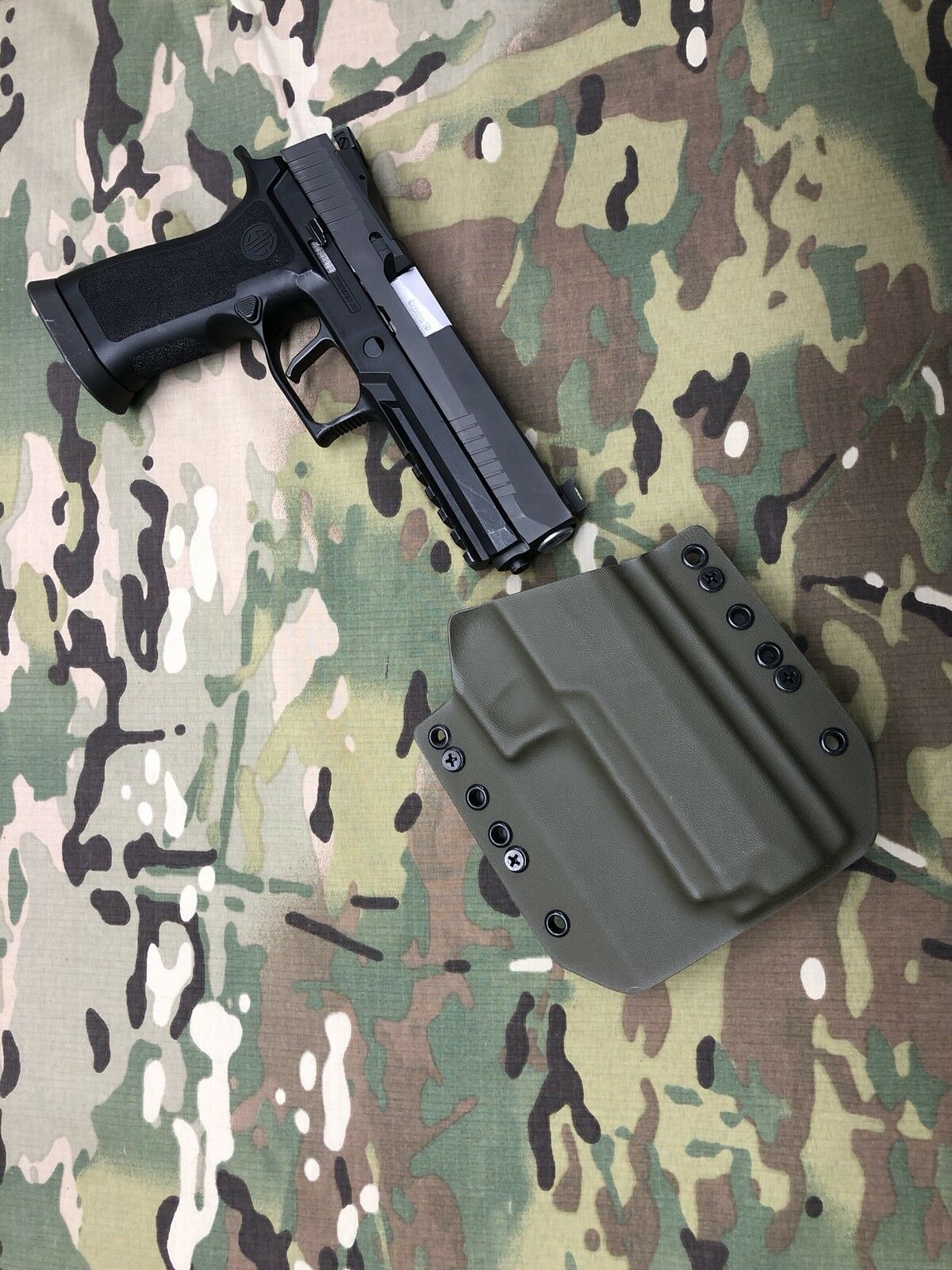 OD P320 Grün Kydex Holster for Sig P320 OD X-VTAC 49bda4