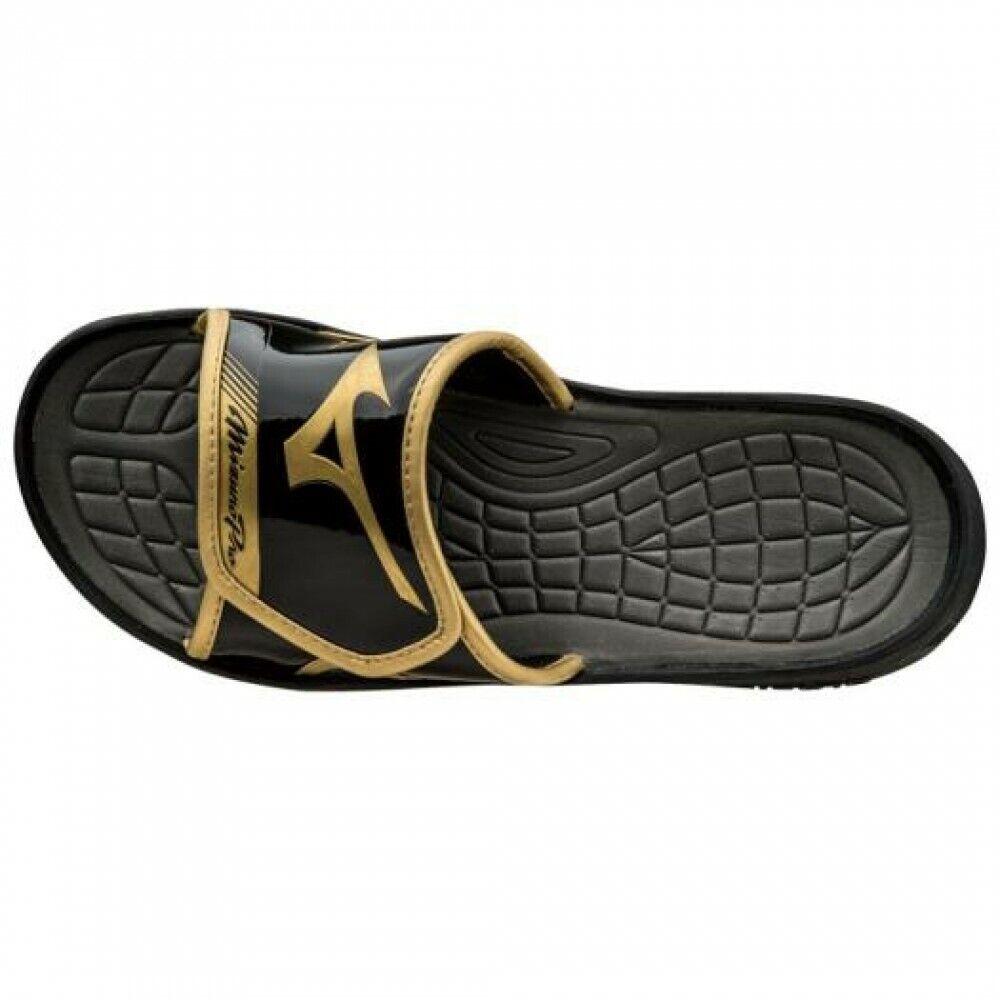 walking & sports sandals  Pro Slide  11GJ1501 Black × gold