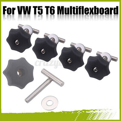 Befestigungsschrauben Multiflexboard Edelstahl 50mm Rastschiene Für VW T5 T6