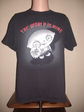 T-SHIRT - MEN'S MEDIUM (M) - FAMILY GUY - STEWIE GRIFFIN - THE WORLD IS MINE