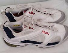 Reebok white blue red premier Tennis Shoes dmx shear  sneakers mens size 11.5
