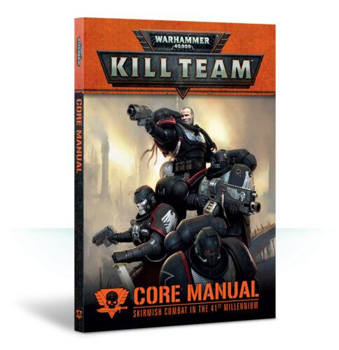 Kill Team Core Manual Rulebook Warhammer 40k 40,000 NEW