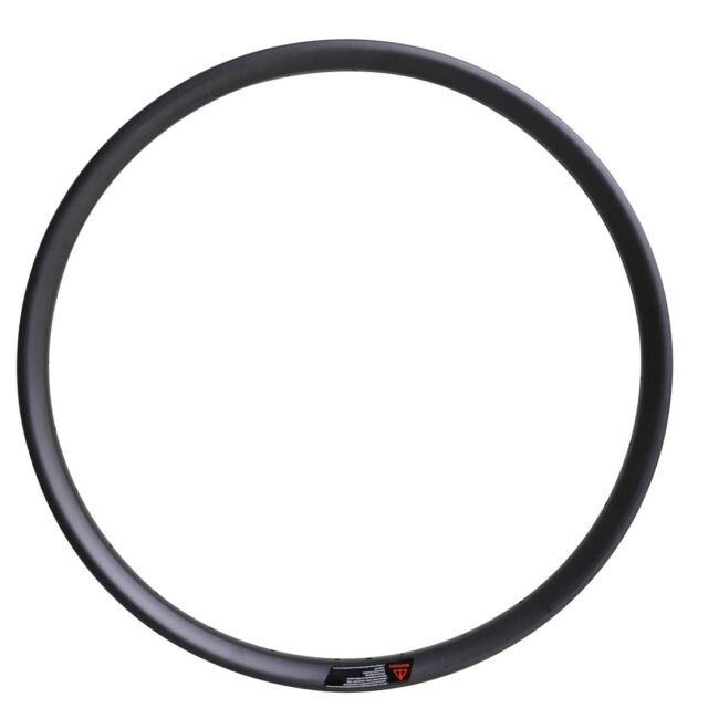 29er MTB Carbon Clincher Rim 35mm wide UD Matt 28H 32H Tubeless Mountain Bike