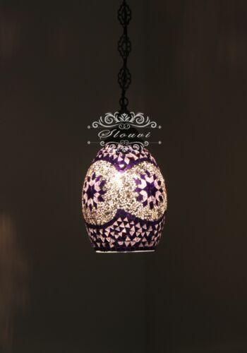 Kitchen Island Light Turkish Handmade Mosaic Hanging Pendant