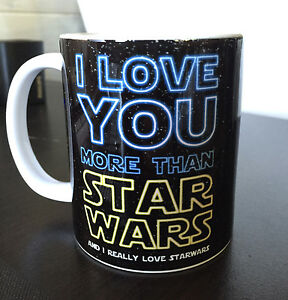 Star Wars Love Quotes Glamorous I Love You More Than Star Wars Valentines Love Quote Sign 11Oz