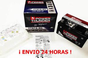 Power Thunder 0607941P 12V 6Ah Batería (YTX7A-BS)