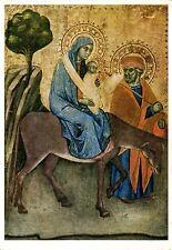 Alte Kunstpostkarte - Barbana da Modena - Flucht nach Ägypten