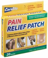 Coralite Pain Relief Patch Two Packs Of 20 Patches