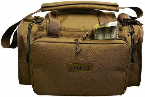 Johnson Tactical Shooting Gun Pistol Range Gear Bag Deluxe Case Magazines