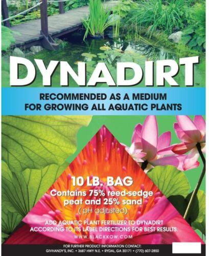 Planting Soil Bag 10 lb flower Planting Grow Aquatic Plant Pot Container Soil
