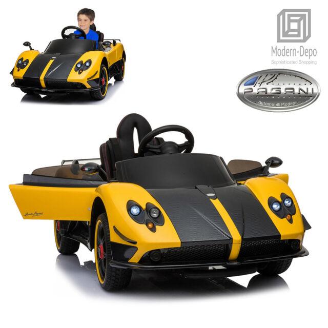 buy pagani zonda r 12v electric kid ride on car w/ remote control