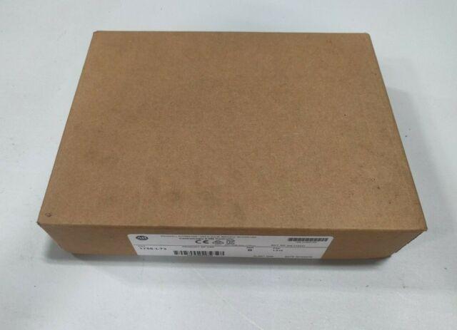 SEALED Allen-Bradley 1756-L73 ControlLogix 8 MB Controller SER B FW 1.010